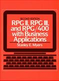 RPG II, RPG III, and RPG/400 with Business Applications, Meyers, Stanley E., 0137830777
