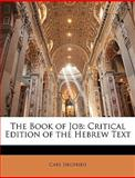 The Book of Job, Carl Siegfried, 1144180775