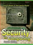 Security in Computing, Pfleeger, Charles P. and Pfleeger, Shari Lawrence, 0132390779