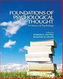 Foundations of Psychological Thought : A History of Psychology, , 0761930779