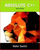 Absolute C++ 6th Edition