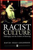 Racist Culture 9780631180784