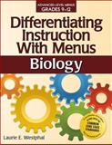 Differentiating Instruction with Menus: Biology, Laurie E. Westphal, 1618210785
