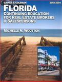 Florida Continuing Education for Real Estate Brokers and Salespersons, Gaines, George, 0793160782