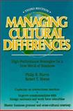 Managing Cultural Differences, Harris, Philip R. and Moran, Robert T., 088415078X