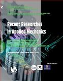 Recent Researches in Applied Mechanics : Proceedings of the 3rd International Conference on Theoretical and Applied Mechanics (TAM '12) Proceedings of the 3rd Internatio,, 1618040782