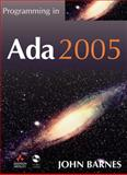 Programming in ADA 2005, Barnes, John, 0321340787