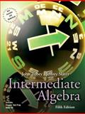 Intermediate Algebra, Tobey, John and Slater, Jeffrey, 0131490788