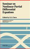 Seminar on Nonlinear Partial Differential Equations, , 0387960791