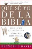 Que Se Yo de la Biblia, Kenneth C. Davis, 0060820799