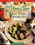Old-Time Favorites : Quick and Easy Menus for People with Diabetes, American Diabetes Association, 1580400795