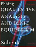 Qualitative Analysis and Ionic Equilibrium, George H. Schenk, 0395770793