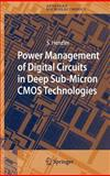 Power Management of Digital Circuits in Deep Sub-Micron CMOS Technologies, Henzler, Stephan, 1402050801