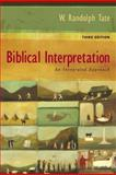 Biblical Interpretation an Integrated Approach, Tate, W. Randolph, 1598560808