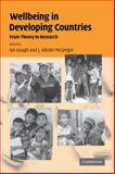 Wellbeing in Developing Countries : From Theory to Research, , 0521180805