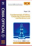 CIMA Exam Practice Kit Fundamentals of Ethics, Corporate Governance and Business Law : Certificate in Business Accounting, Mead, Larry and Bampton, Kevin, 0750680806