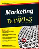 Marketing for Dummies, Hiam, Alexander, 1118880803