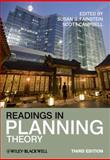 Readings in Planning Theory, Campbell, Scott and Fainstein, Susan S., 1444330802