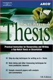 How to Write a Thesis, Tietelbaum and Arco Staff, 0768910811