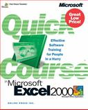Microsoft® Excel 2000, Online Press, Inc. Staff and Cox, Joyce, 0735610819