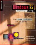 Schildt's Windows 95 Programming in C and C++, Schildt, Herbert, 0078820812