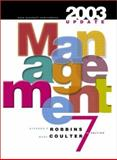 Management : Traditional Approach/Balance Coverage, 2003 Update, Robbins, Stephen P. and Coulter, Mary, 0131410814