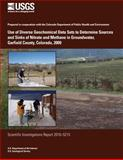 Use of Diverse Geochemical Data Sets to Determine Sources and Sinks of Nitrate and Methane in Groundwater, Garfield County, Colorado 2009, U. S. Department U.S. Department of the Interior, 1499550812