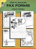 Easy-to-Duplicate Fax Forms, Leslie Cabarga, 0486270823
