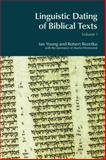 Linguistic Dating of Biblical Texts, Young, Ian and Rezetko, Robert, 1845530829