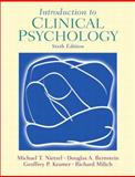 Introduction to Clinical Psychology, Nietzel, Michael T. and Bernstein, Douglas A., 013098082X