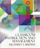 Classroom Instruction and Management, Arends, Richard I., 0070030820