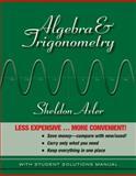 Algebra and Trigonometry, Axler, Sheldon Jay, 0470470828