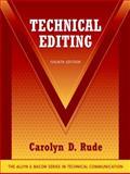 Technical Editing, Rude, Carolyn, 032133082X
