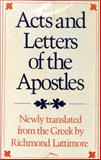 Acts and Letters of the Apostles 9780374100827