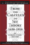 From the Calculus to the Set Theory, 1630-1910 9780691070827