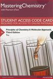 MasteringChemistry with Pearson EText -- Standalone Access Card -- for Principles of Chemistry : A Molecular Approach, Tro, Nivaldo J., 0133900827