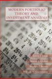Modern Portfolio Theory and Investment Analysis, Elton, Edwin J. and Brown, Stephen J., 0470050829