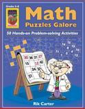 Math Puzzles Galore, Rik Carter, 1583240837