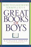 Great Books for Boys, Kathleen Odean, 0345420837
