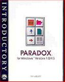 Paradox Versions 1/4.5 for Windows - New Perspectives Introductory, Ageloff, Roy, 1565270835