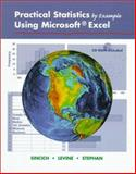 Practical Statistics by Example Using Microsoft Excel, Sincich, Terry and Stephan, David F., 0130960837