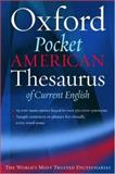 The Oxford Pocket American Thesaurus of Current English, , 019515083X