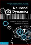 Neuronal Dynamics : From Single Neurons to Networks and Models of Cognition, Gerstner, Wulfram and Kistler, Werner M., 1107060834