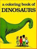 Dinosaurs-Coloring Book, Bellerophon Books, Nancy Conkle, 0883880849