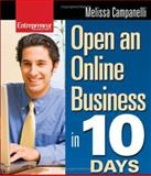 Open an Online Business in 10 Days, Campanelli, Melissa, 1599180847