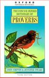 Concise Oxford Dictionary of Proverbs, , 0192800841