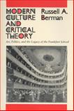 Modern Culture and Critical Theory 9780299120849