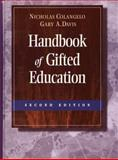 Handbook of Gifted Education, Colangelo, Nicolas and Davis, Gary A., 0205260853