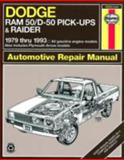 Dodge Ram 50/D-50 Pickups and Raider, 1979-1993, Robert Maddox and Curt Choate, 1563920859
