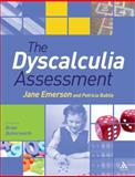 The Dyscalculia Assessment, Emerson, Jane and Butterworth, Brian, 1441140859